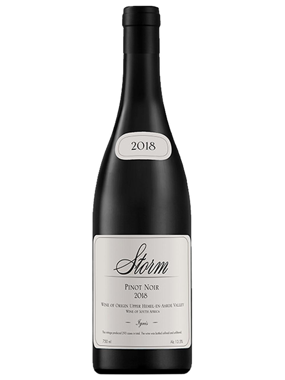 2018 Ignis Pinot Noir