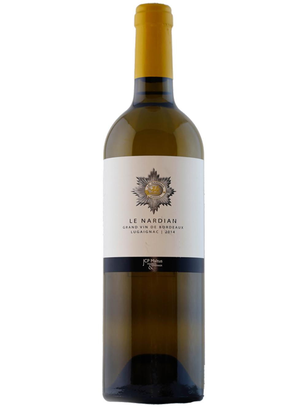 Le Nardian Lugaignac Bordeaux Blanc Sec