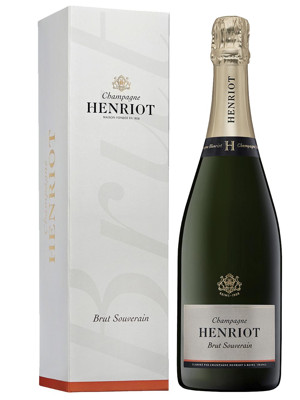Henriot Brut Souverain giftbox