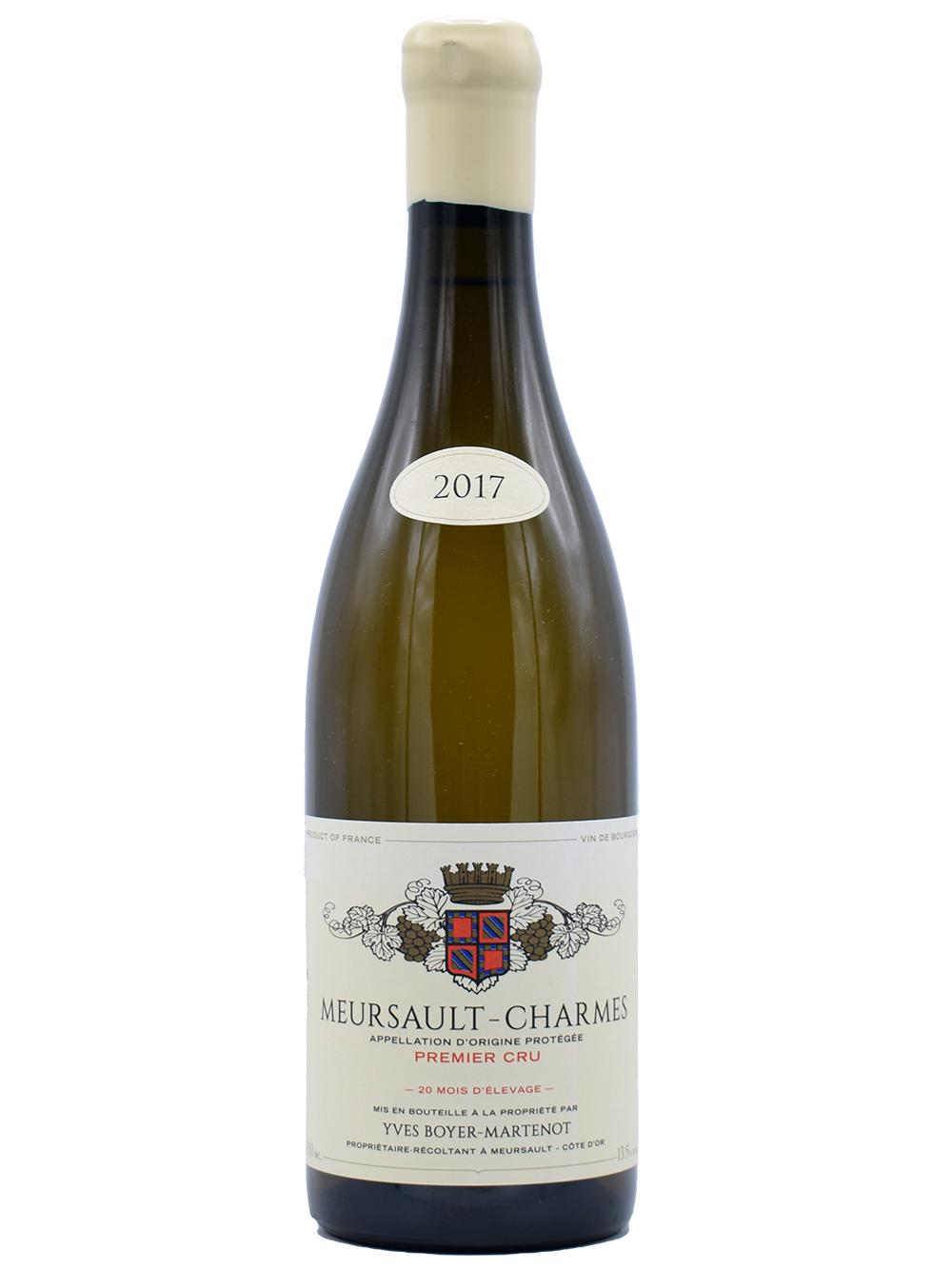 2017 Meursault 1er cru Charmes