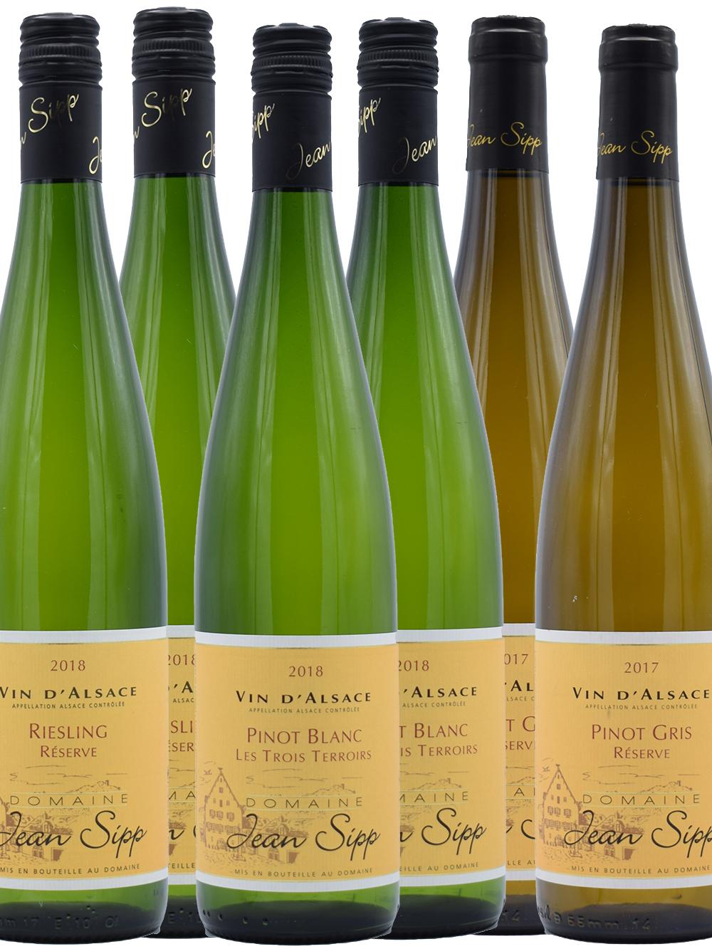 Ontdek de wijnen van Jean Sipp