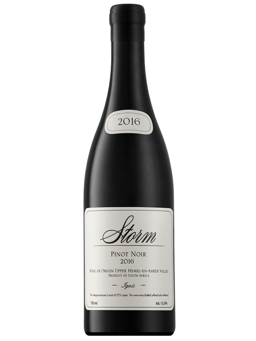 2016 Ignis Pinot Noir