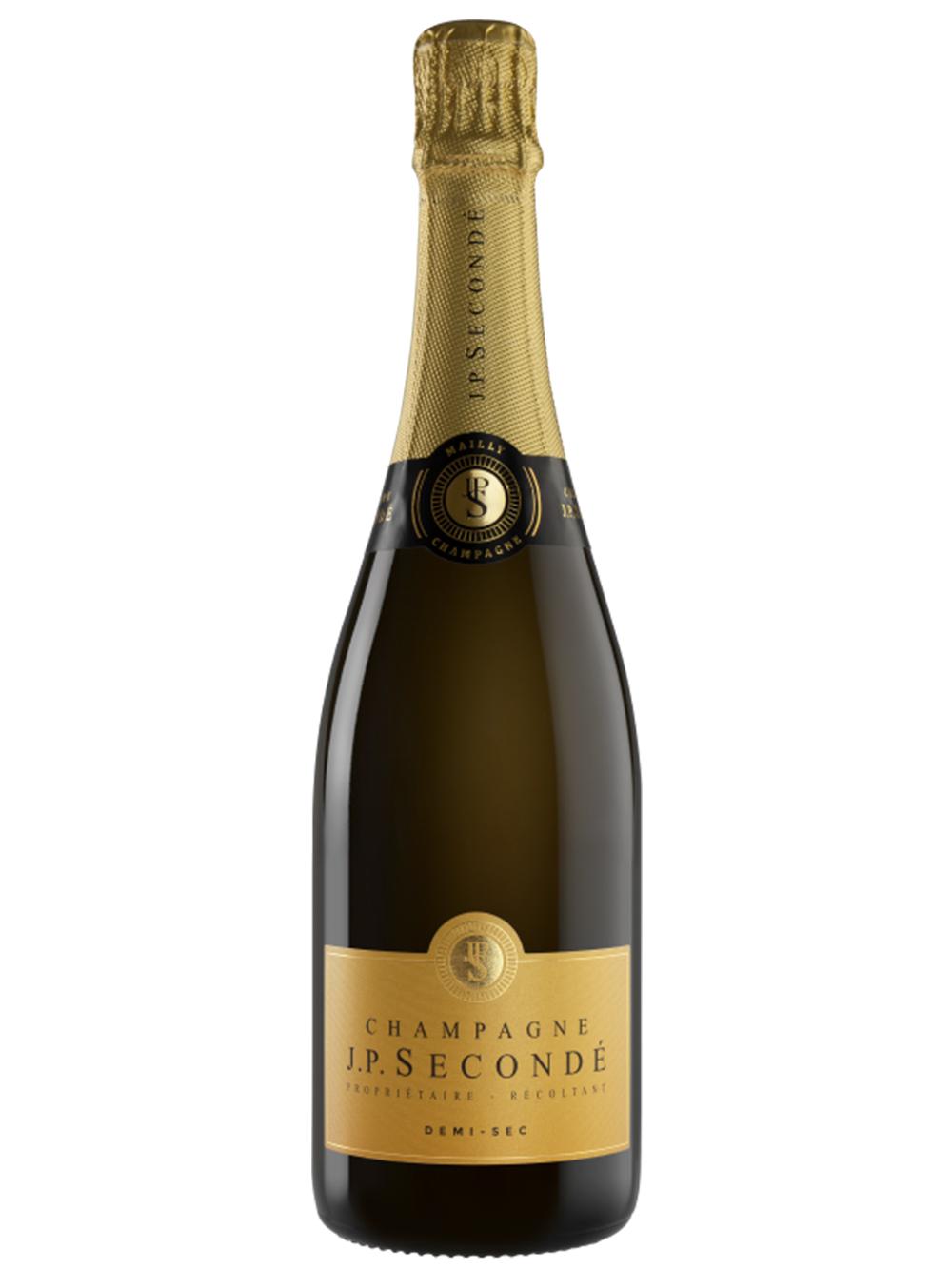 Champagne JP Secondé Demi-Sec