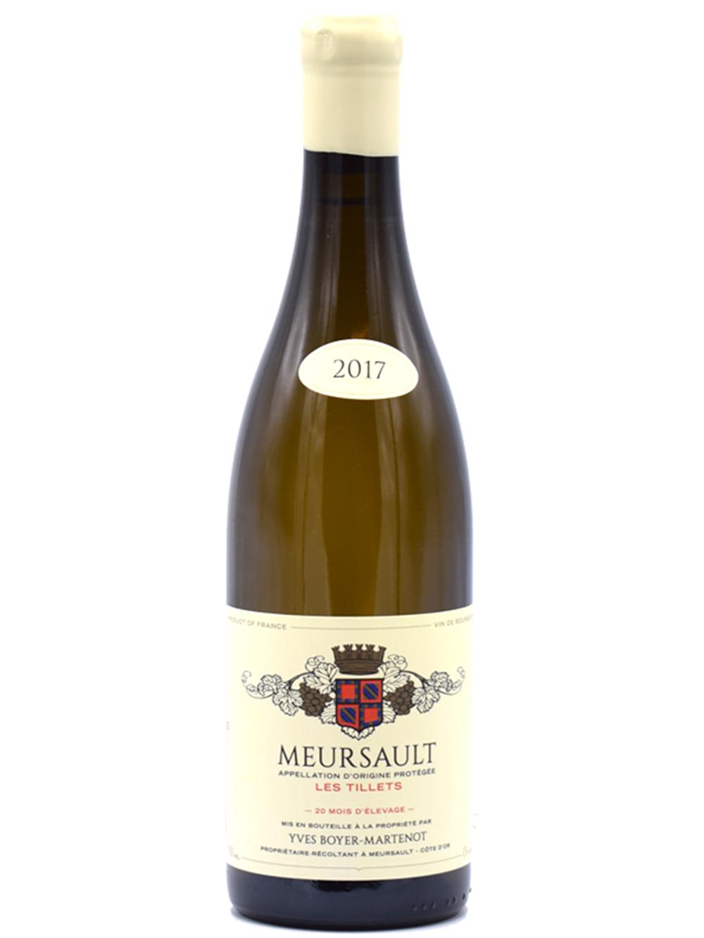 2017 Meursault les Tillets