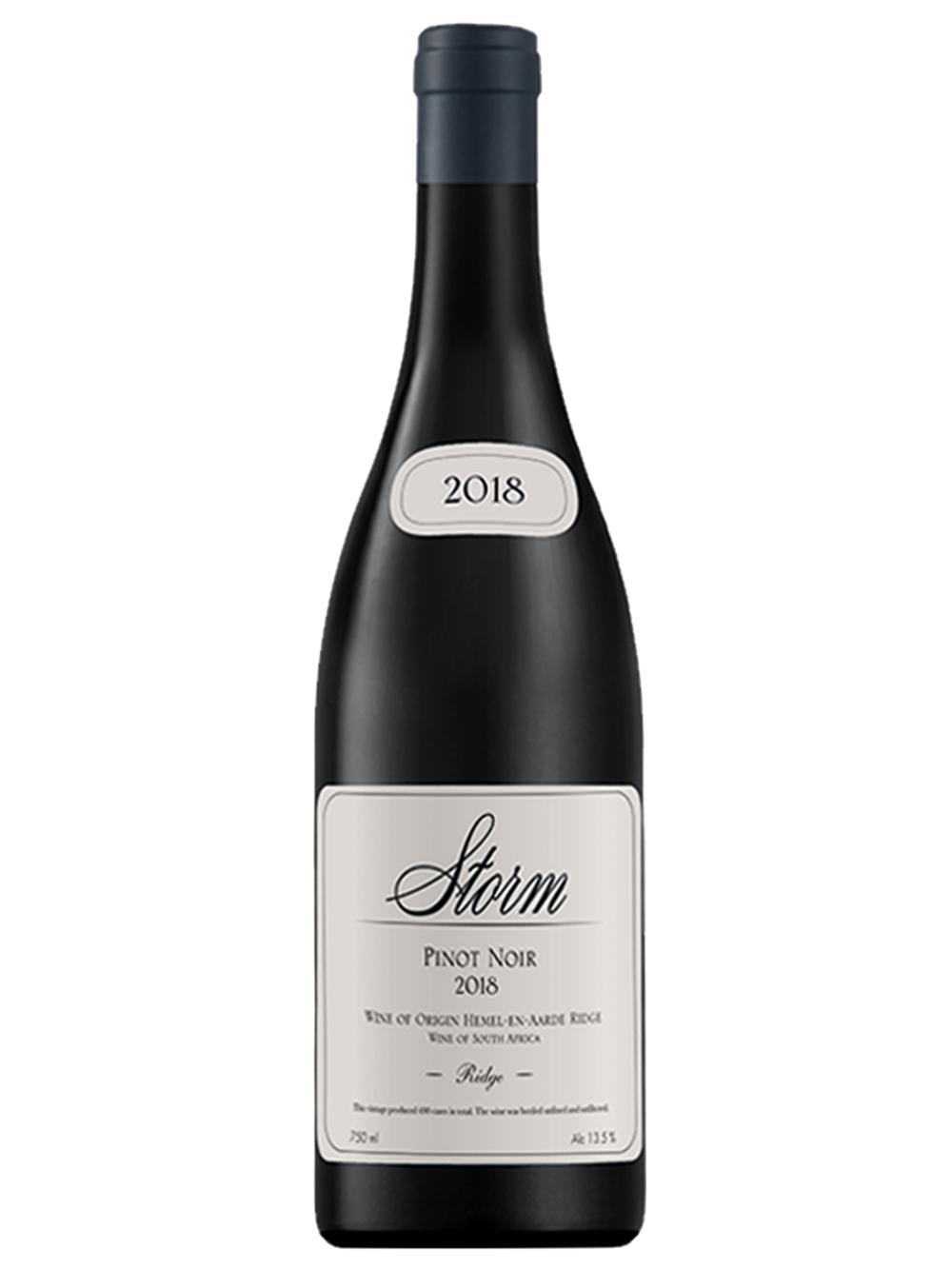 2018 Ridge Pinot Noir