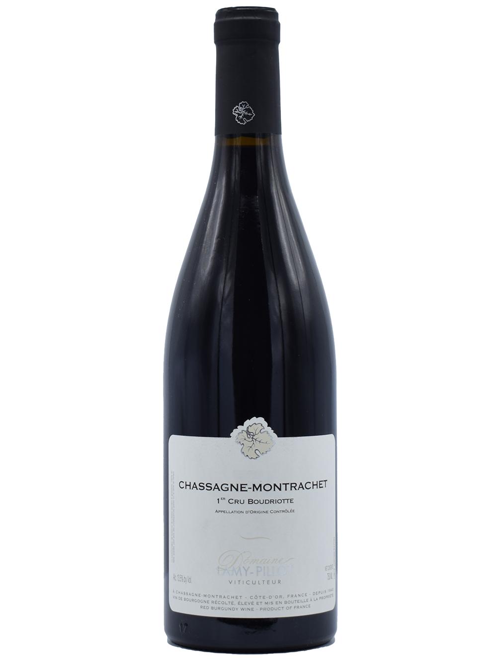 Chassagne Montrachet 1er Cru Boudriottes rouge