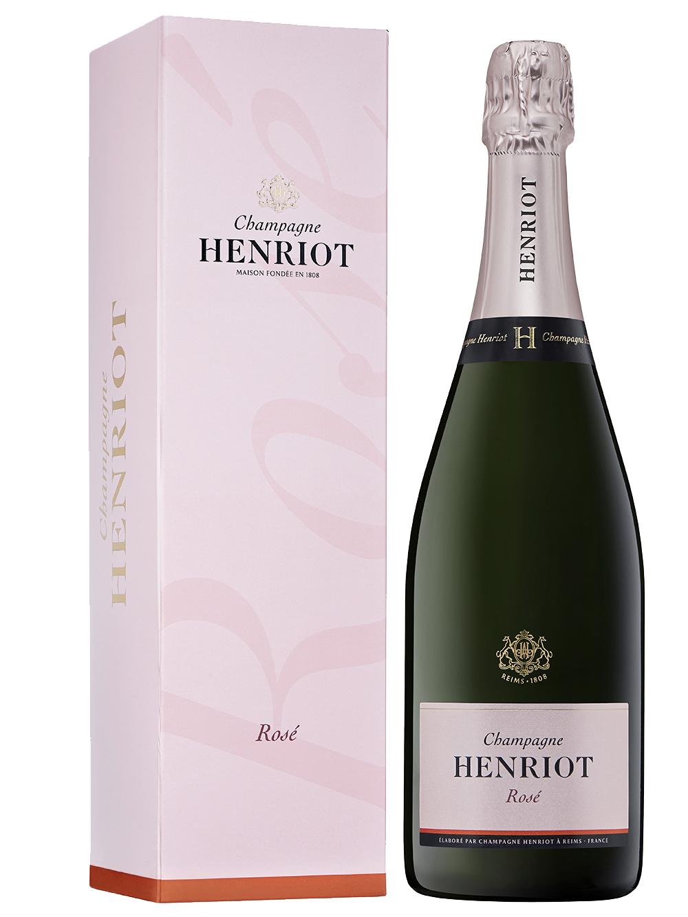 Henriot Rosé giftbox